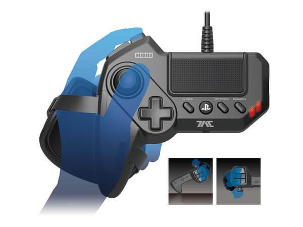 HORI Tactical Assault Commander Grip KeyPad and Gamepad Controller for PS4 PS3 PC 05 1 - موس و دسته بازی Hori مدل Tactical Assault مخصوص PS4