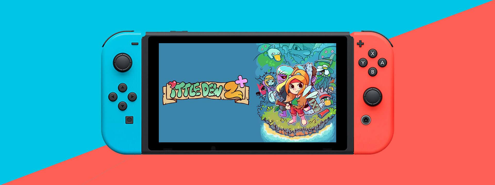 Ittle Dew 2 nintendo switch 01 - بازی Ittle Dew 2 مخصوص Nintendo Switch