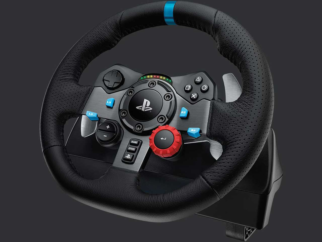 Logitech G29 Driving Force Race Wheel 07 1 - فرمان بازی لاجیتک مدل G29 Driving Force مخصوص PS4/PC