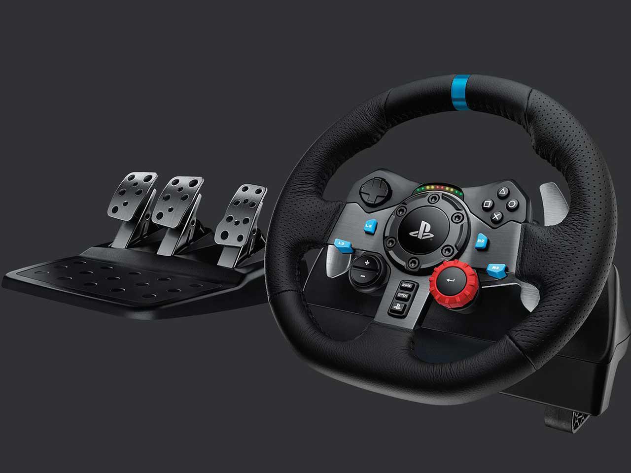Logitech G29 Driving Force Race Wheel 10 1 - فرمان بازی لاجیتک مدل G29 Driving Force مخصوص PS4/PC