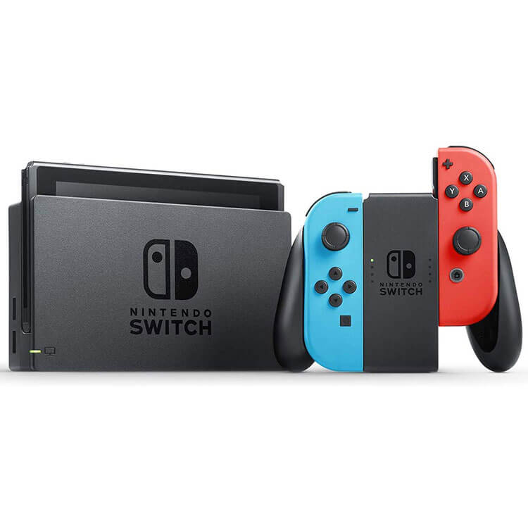 Nintendo Switch Neon Blue and Neon Red 1 1 - کنسول بازی Nintendo Switch - قرمز آبی