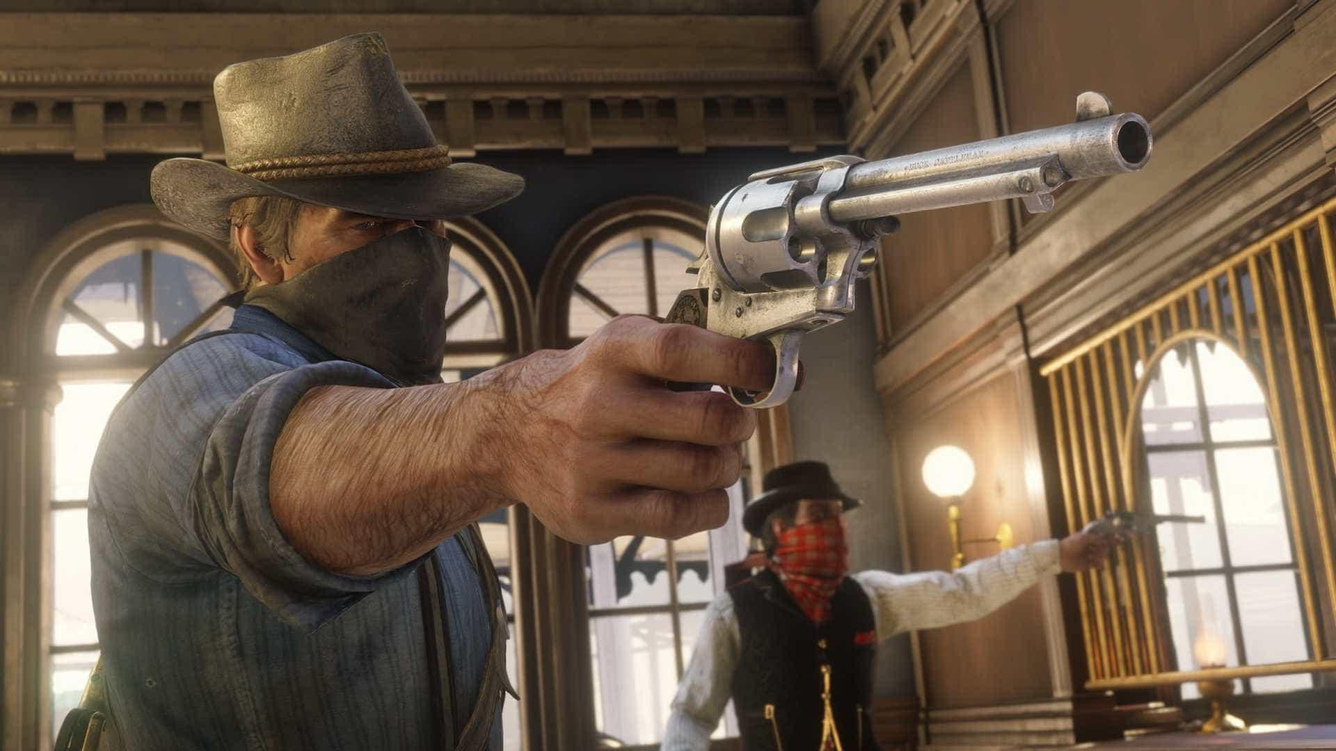 Red Dead Redemption 2 10 1 - بازی Red Dead Redemption 2 مخصوص Xbox One