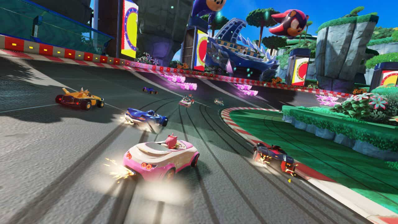Team Sonic Racing nintendo switch 02 - بازی Team Sonic Racing مخصوص Nintendo Switch