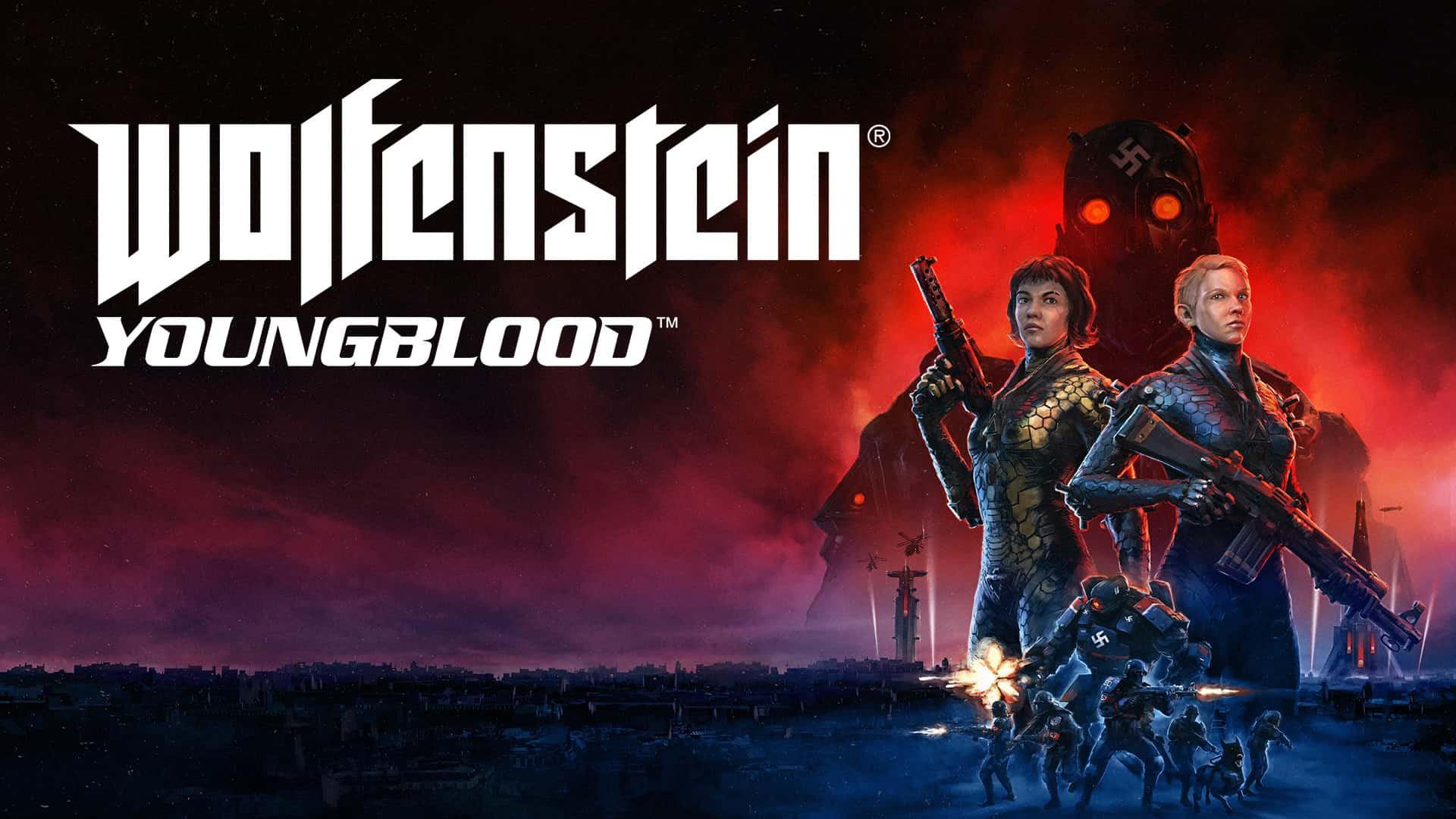 Wolfenstein Youngblood 01 - بازی Wolfenstein Youngblood Deluxe Edition مخصوص Xbox One
