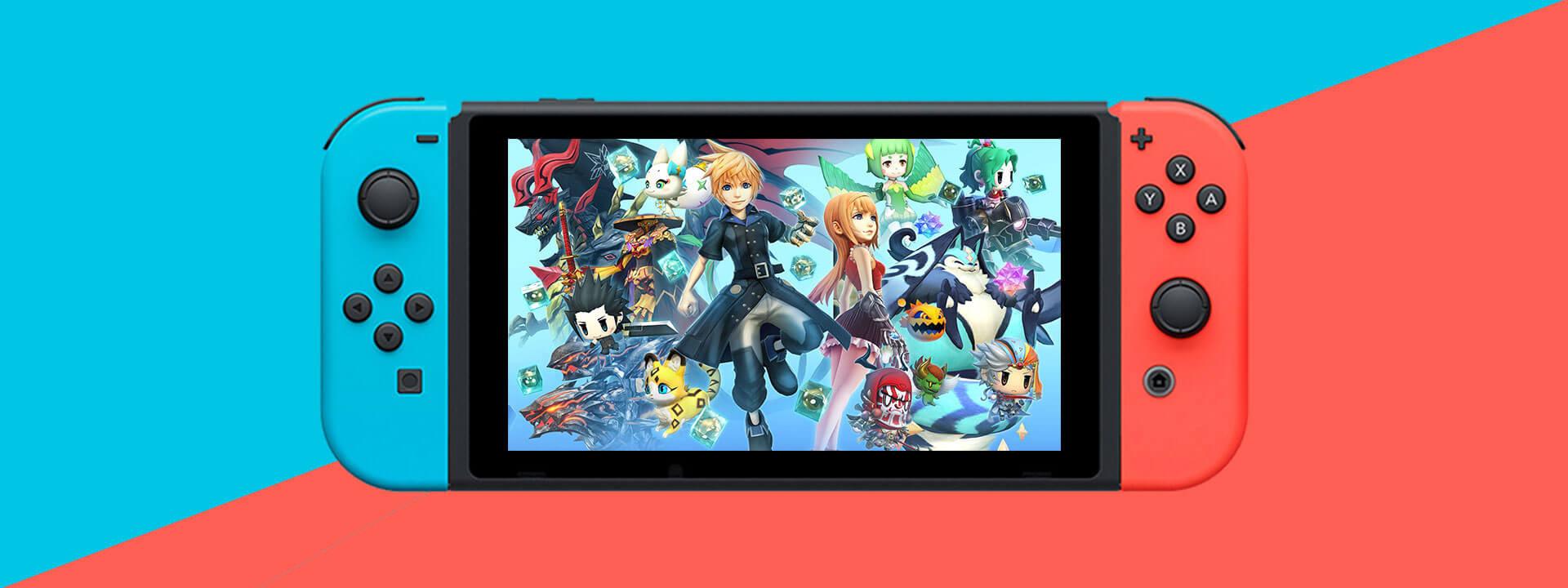 World of Final Fantasy Maxima 01 - بازی World of Final Fantasy Maxima مخصوص Nintendo Switch