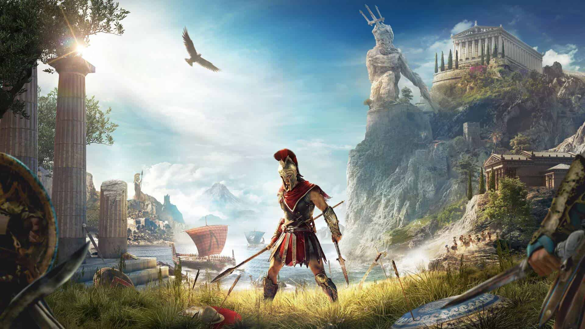 assassins creed odyssey PREVIEW SCREENSHOT 01 1 - بازی Assassin's Creed Odyssey مخصوص PS4