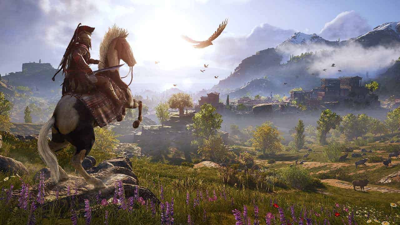 assassins creed odyssey PREVIEW SCREENSHOT1 1 - بازی Assassin's Creed Odyssey مخصوص PS4