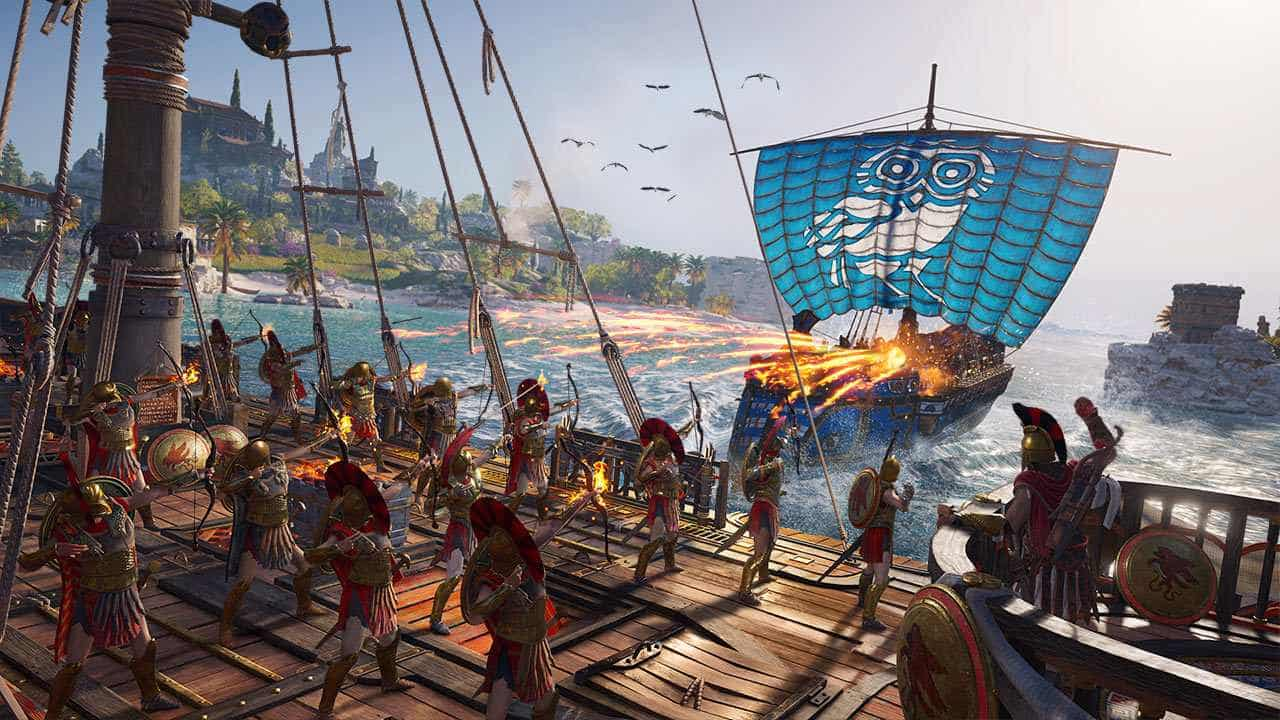assassins creed odyssey PREVIEW SCREENSHOT5 1 - بازی Assassin's Creed Odyssey مخصوص PS4