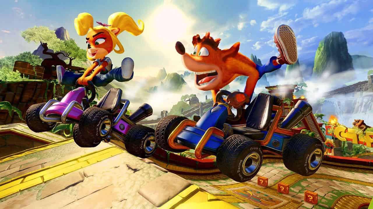 crash team racing nitro fueled 1 - بازی Crash Team Racing Nitro-Fueled مخصوص Xbox One