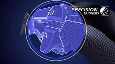 dualshock 4 precision triggers feature image 1 - دسته بازی PlayStation 4 - قرمز کریستالی