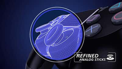 dualshock 4 refined analog stick feature image 1 - دسته بازی PlayStation 4 - سبز ارتشی