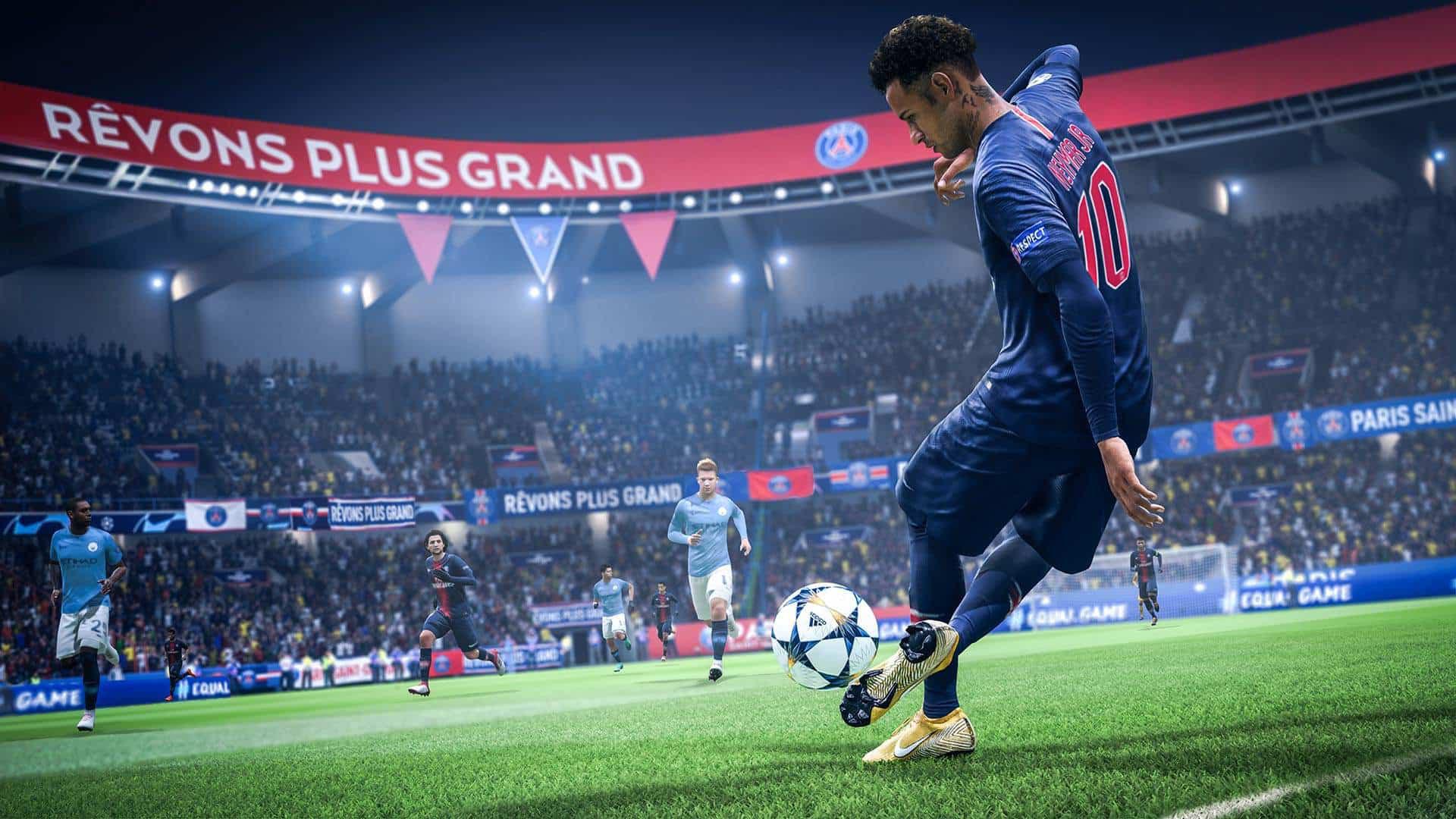 fifa19 PREVIEW SCREENSHOT2 1 - بازی FIFA 19 مخصوص Xbox One