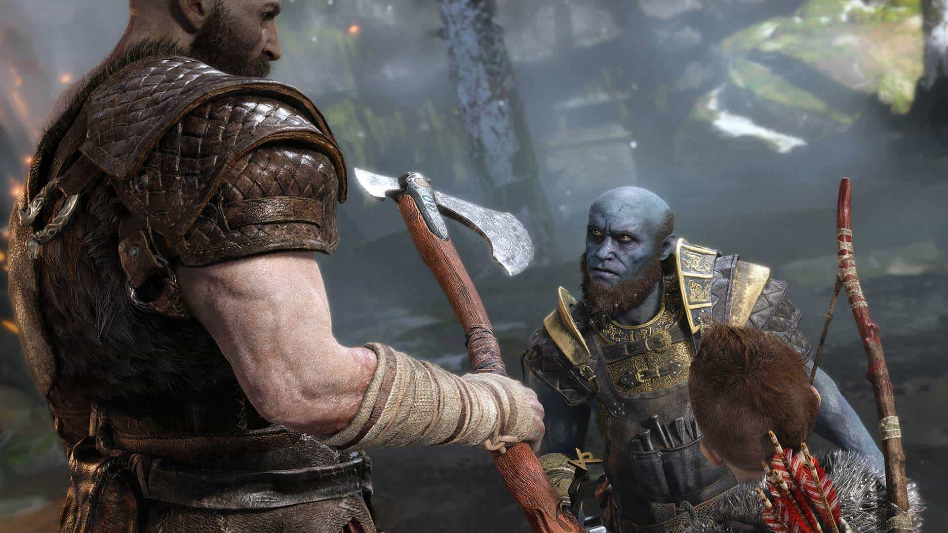 god of war PREVIEW SCREENSHOT3 1 - بازی God of War مخصوص PS4