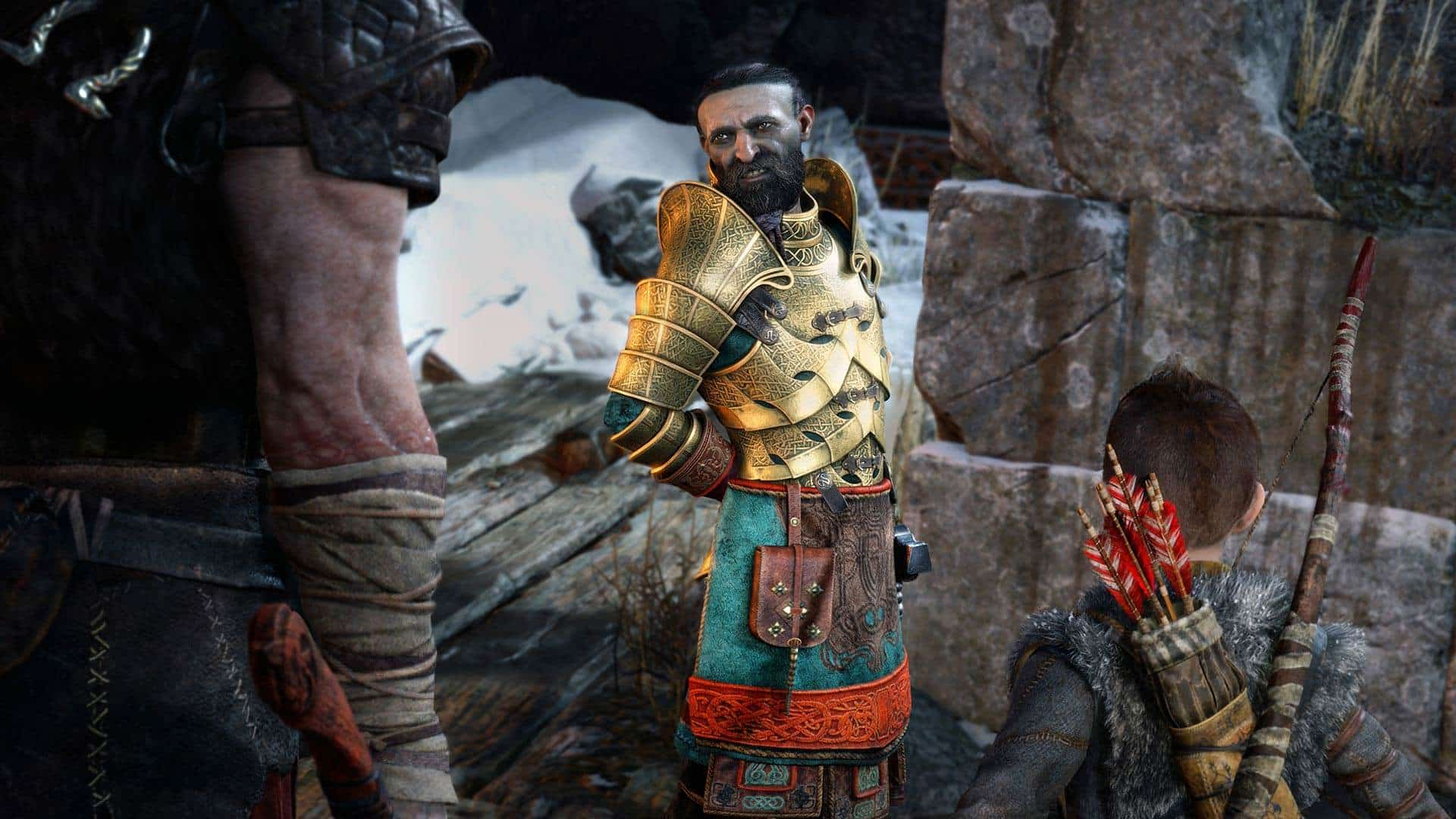 god of war PREVIEW SCREENSHOT4 1 - بازی God of War مخصوص PS4