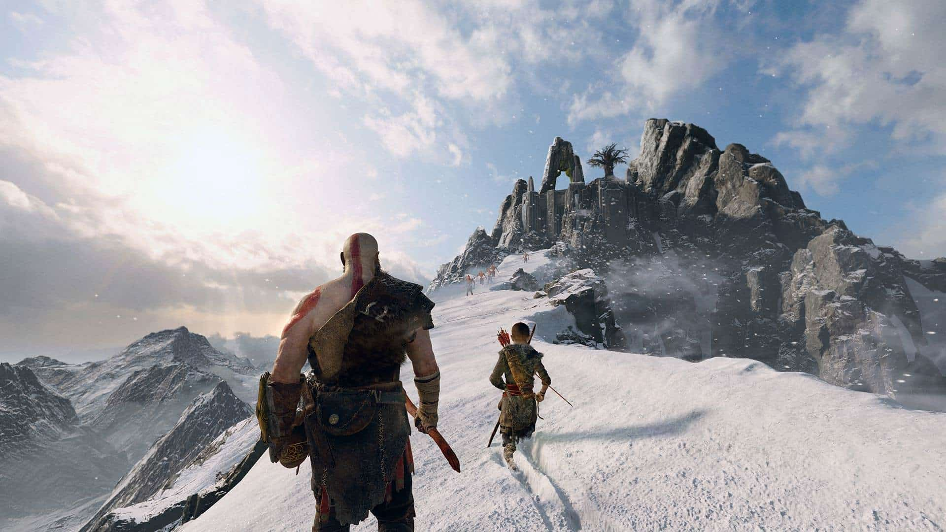 god of war PREVIEW SCREENSHOT6 1 - بازی God of War مخصوص PS4