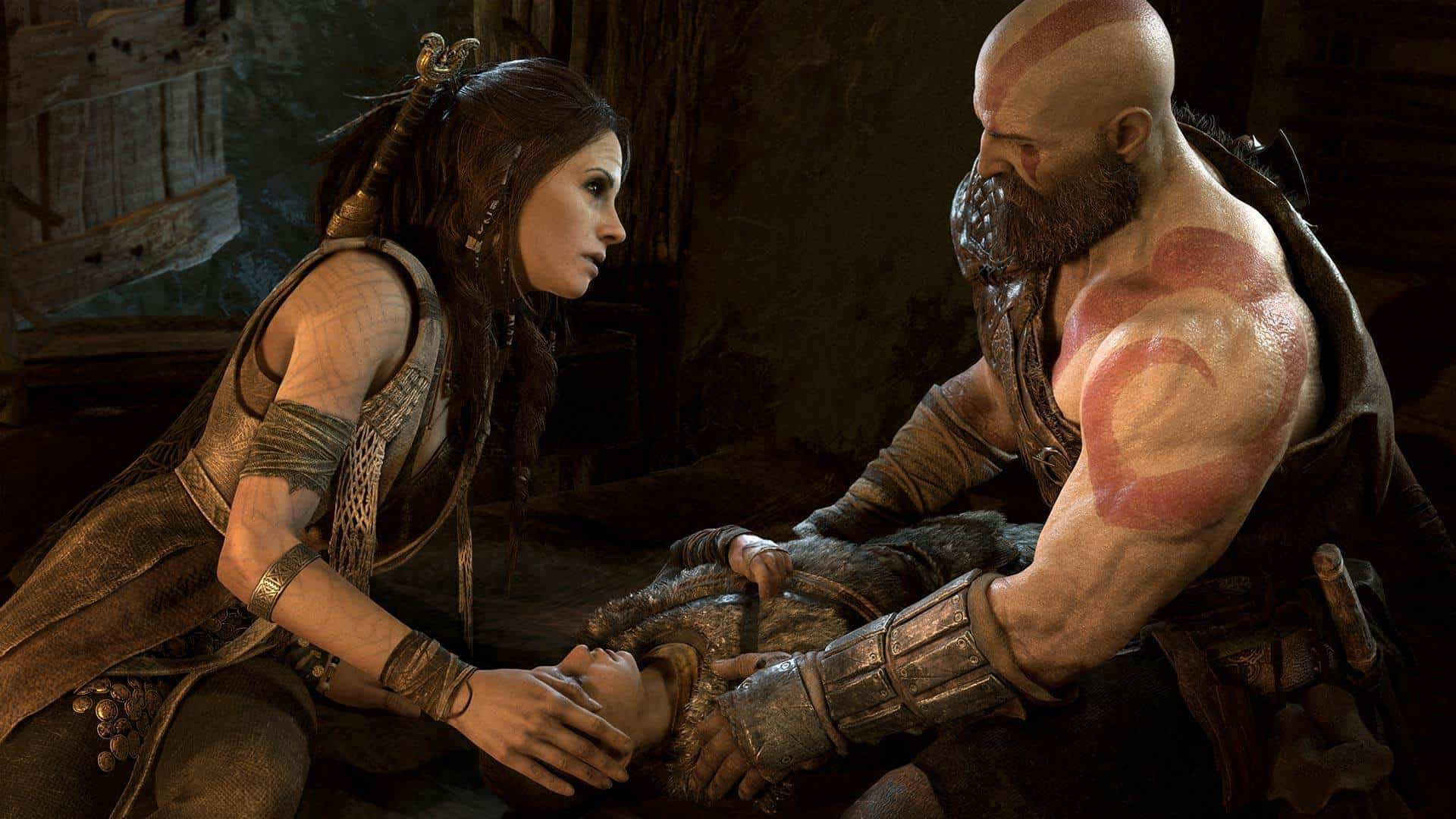 god of war PREVIEW SCREENSHOT9 1 - بازی God of War مخصوص PS4