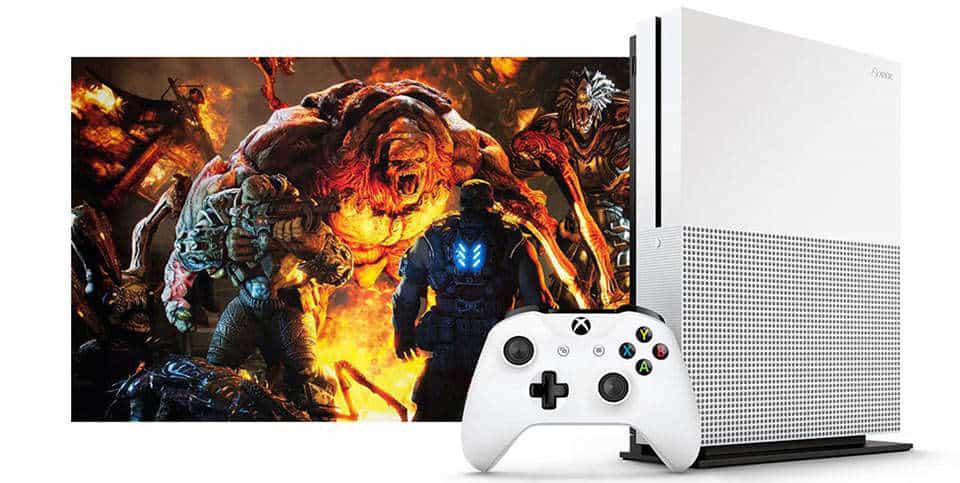 microsoft xbox one s 02 - کنسول بازی Xbox One S دو دسته - ظرفیت 1 ترابایت