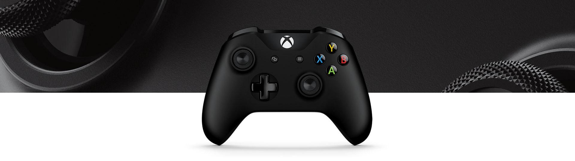 microsoft xbox one s wireless controller black 7 1 - دسته بازی Xbox One S - مشکی
