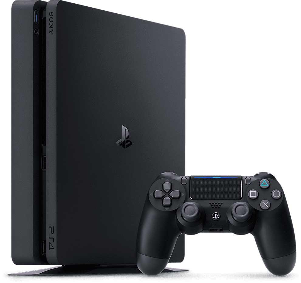 playstation 4 slim vertical mind 1 min - کنسول بازی PS4 Slim دو دسته ریجن 2 - ظرفیت 1 ترابایت