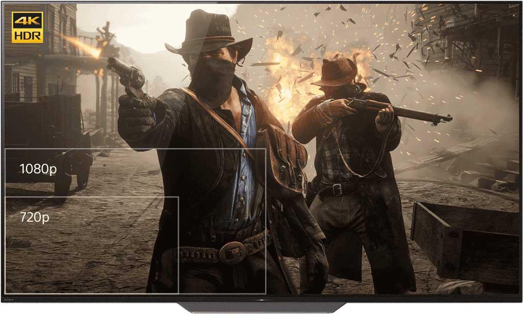 ps4 pro 4k gaming 1 min - کنسول بازی PlayStation 4 Pro ریجن 2 - ظرفیت 1 ترابایت