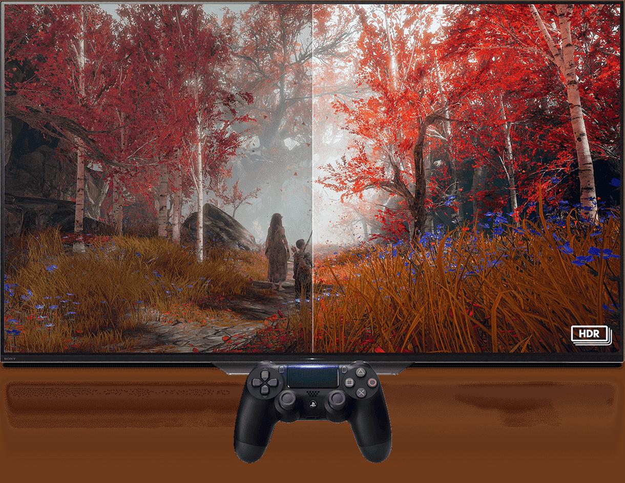ps4 pro hdr 1 - کنسول بازی PS4 Pro ریجن 2 - ظرفیت 1 ترابایت به همراه بازی