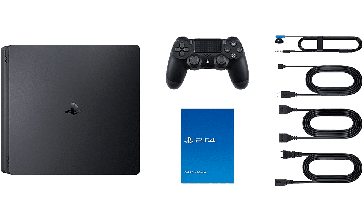 ps4 slim in box - کنسول بازی PlayStation 4 Slim ریجن 2 - ظرفیت 1 ترابایت