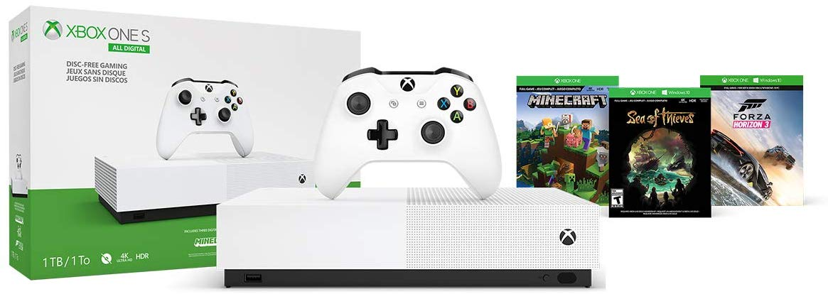 xbox one s all digital edition 10 - کنسول بازی Xbox One S All-Digital Edition - ظرفیت 1 ترابایت