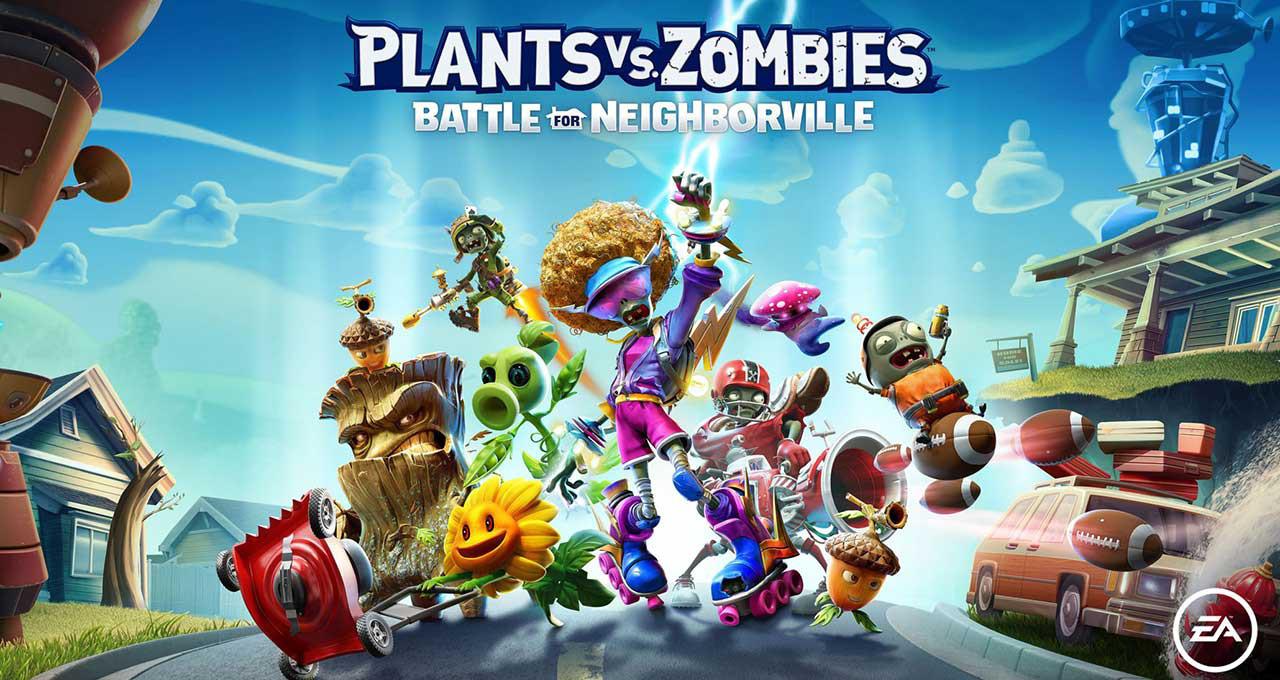 Plants Vs Zombies Battle For Neighborville 07 - بازی Plants vs Zombies: Battle for Neighborville مخصوص PS4