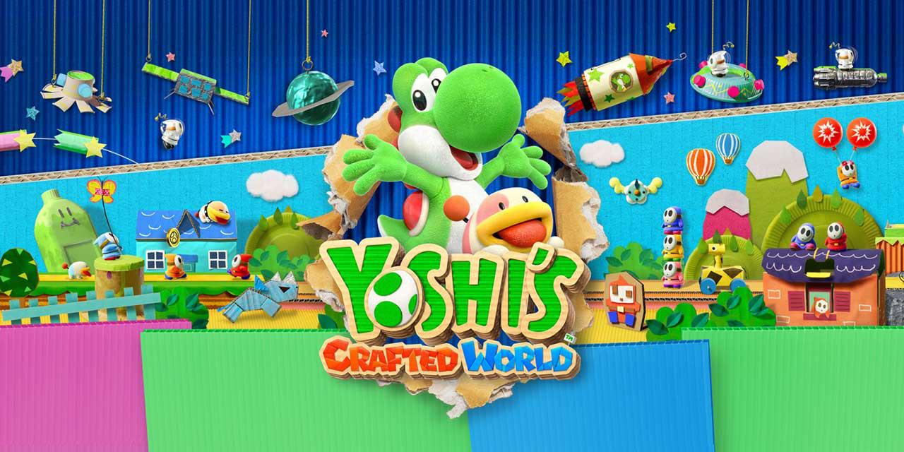 Yoshis Crafted World nintendo switch 04 - بازی Yoshi's Crafted World مخصوص Nintendo Switch