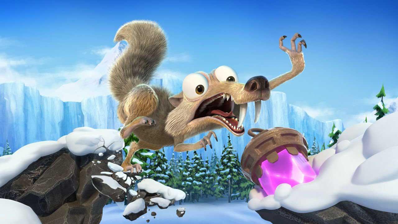 ice Age Scrats Nutty Adventure 04 - بازی Ice Age Scrat's Nutty Adventure مخصوص PS4