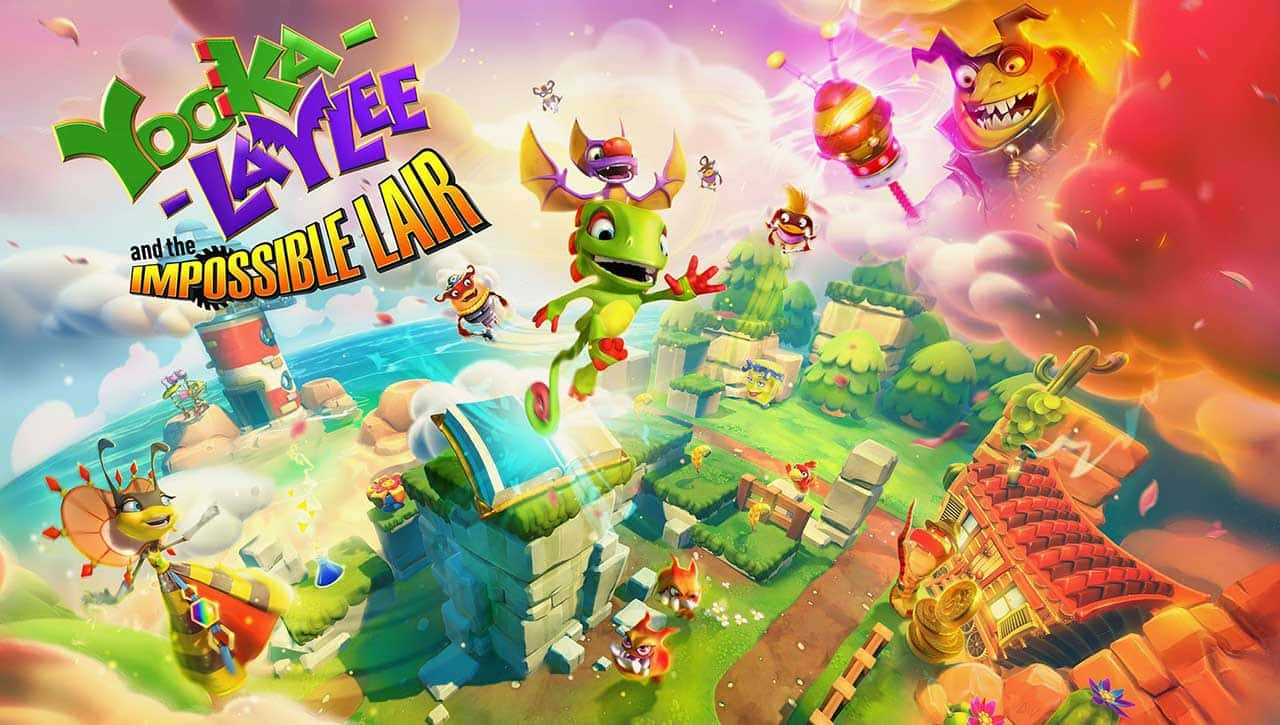 yooka laylee the impossible lair 03 - بازی Yooka-Laylee and the Impossible Lair مخصوص Nintendo Switch