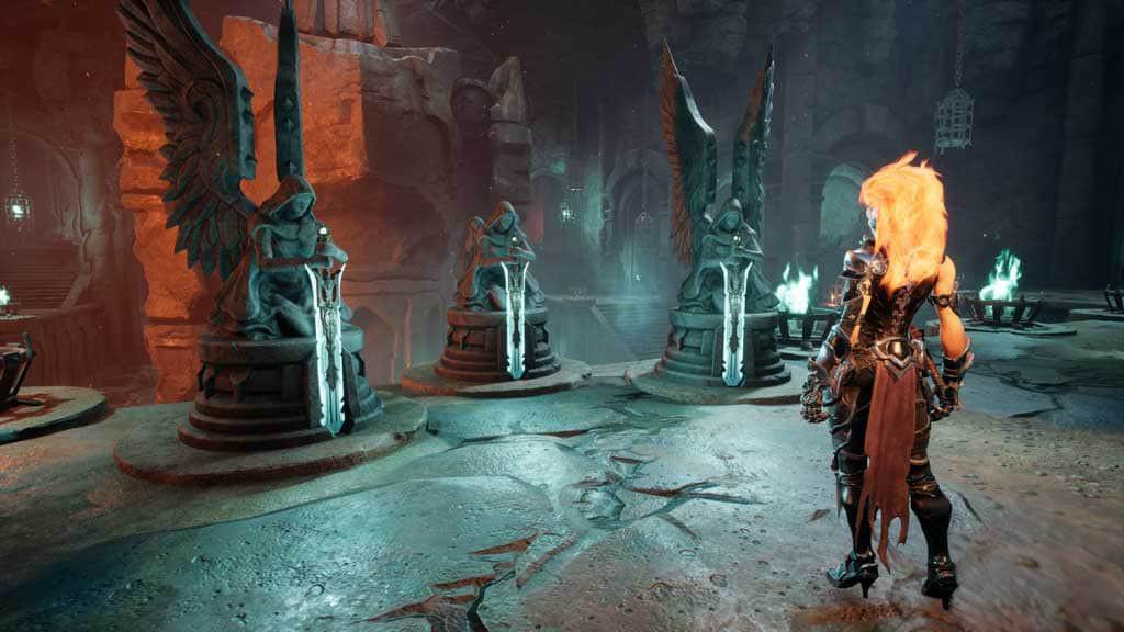 darksiders iii ps4 07 - بازی Darksiders III مخصوص PS4