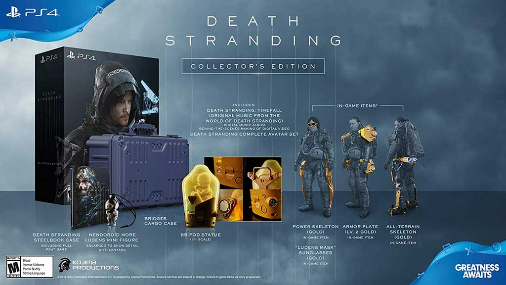 death stranding collectors edition ps4 03 - بازی Death Stranding نسخه Collector's Edition مخصوص PS4