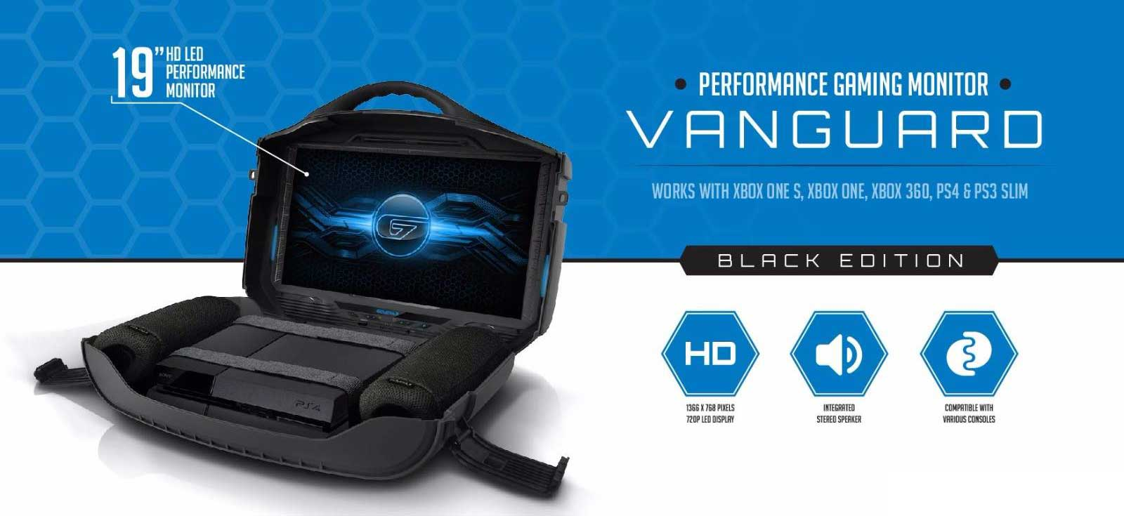 gaems vanguard portable monitor 08 - مانیتور قابل حمل GAEMS مدل Vanguard