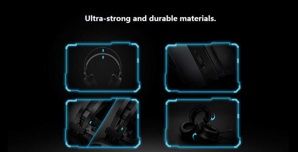 rapoo vh510 gaming headset 09 - هدست Rapoo مدل VH510
