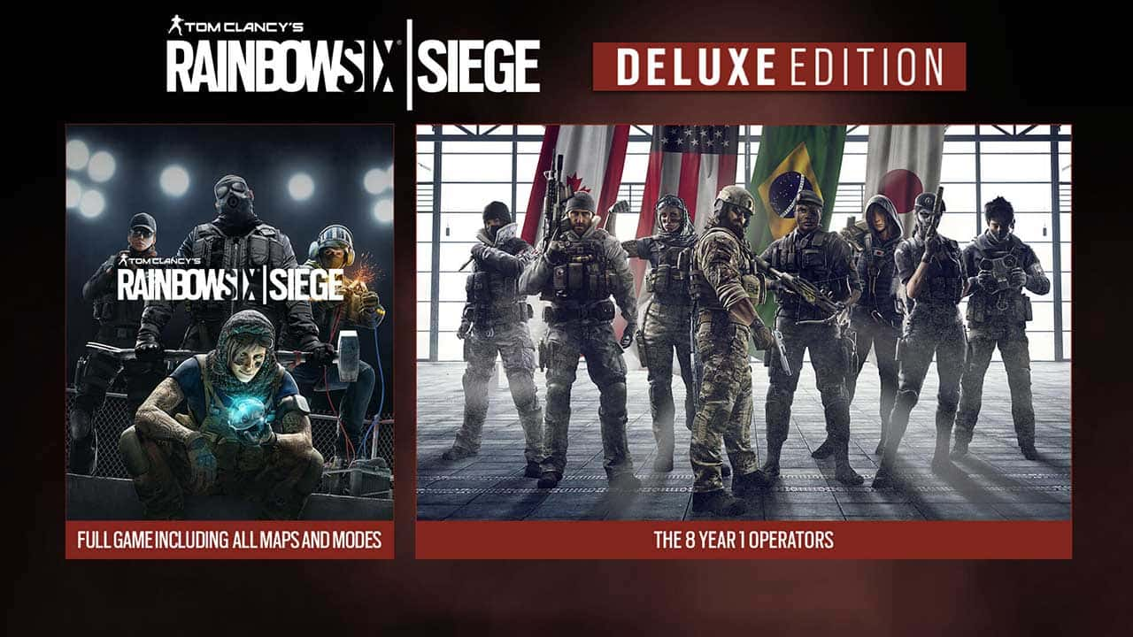 rainbow six siege 10 - بازی Rainbow Six Siege نسخه Deluxe Edition مخصوص PS4