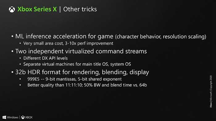 جزئیات تکنولوژیهای xbox series x