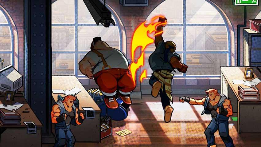تصویر بازی streets of rage 4