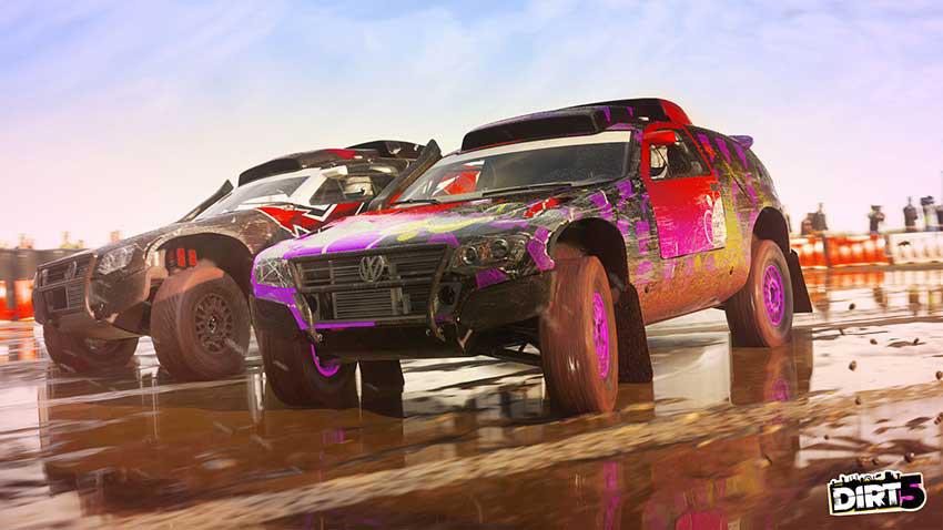 بازی dirt 5