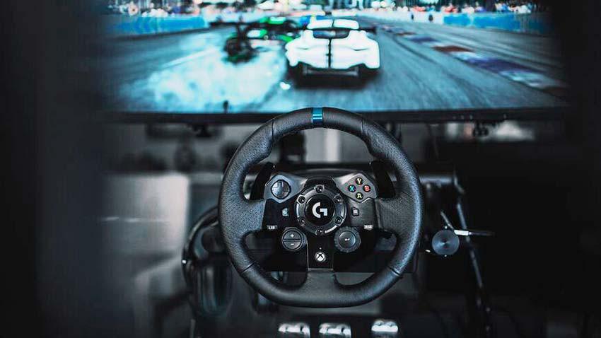 فرمان بازی Logitech G923 برای Xbox One
