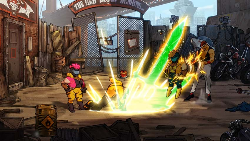 بازی Streets Of Rage 4