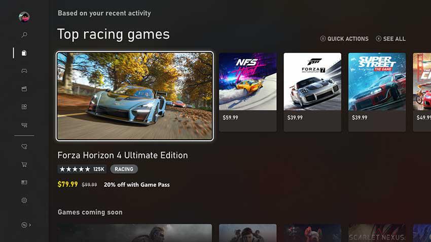 New Microsoft Store on Xbox wallpaper