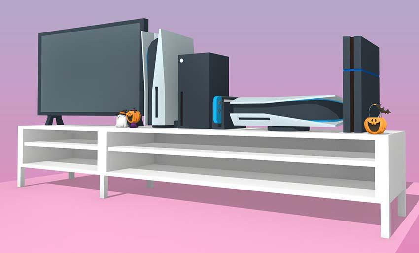 ابعاد PS5