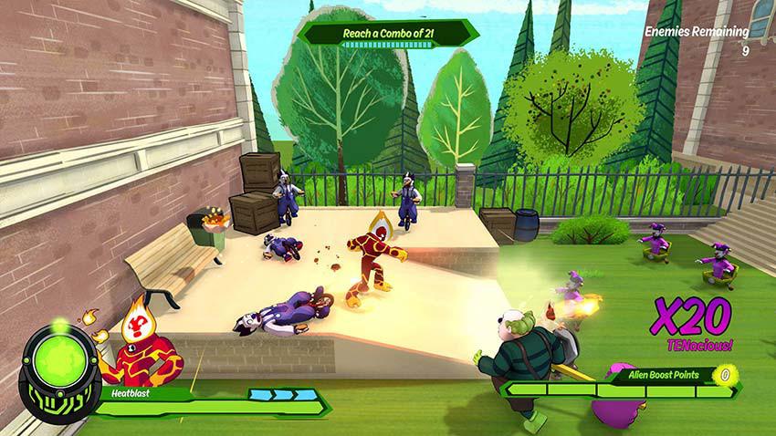 بازی Ben 10 Power Trip