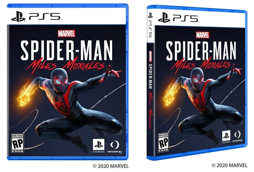 box art Spider-Man Miles Morales