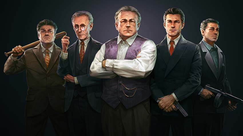 بازی mafia definitive edition