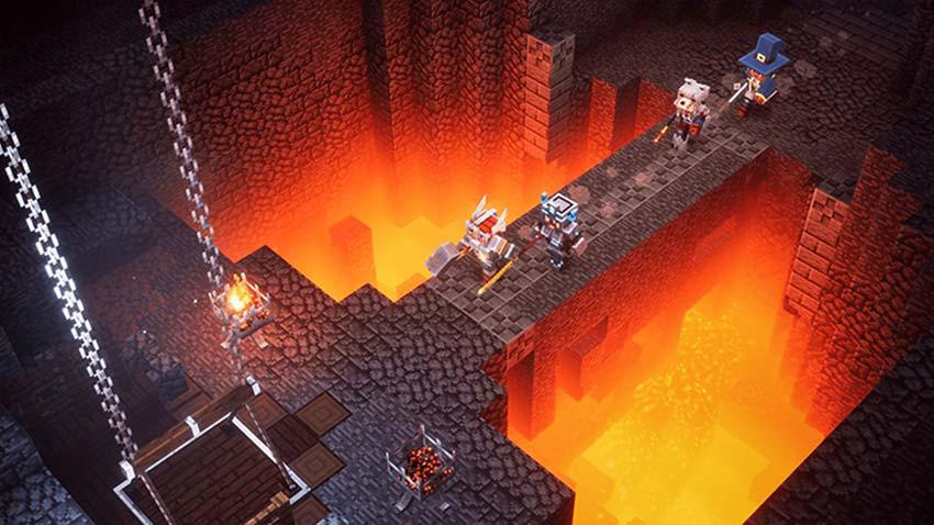 بازی Minecraft Dungeons