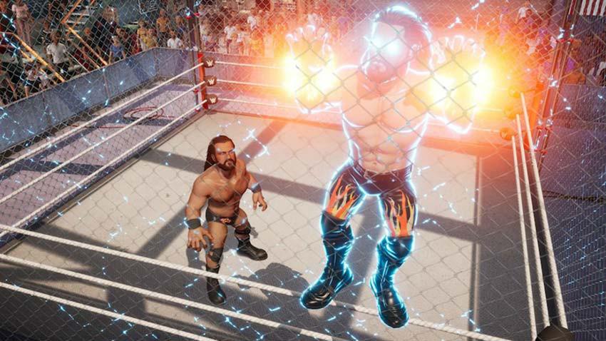 بازی WWE 2K Battlegrounds
