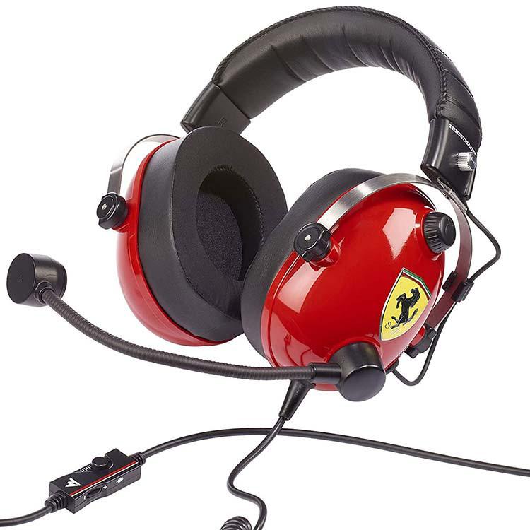 هدست Thrustmaster مدل T.Racing Scuderia Ferrari Edition