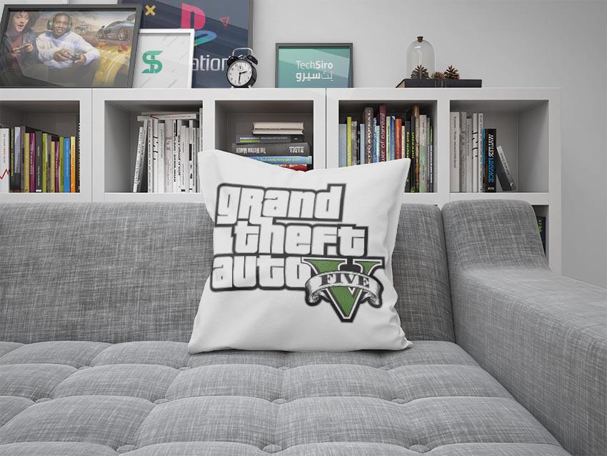 بالش طرح GTA V Logo